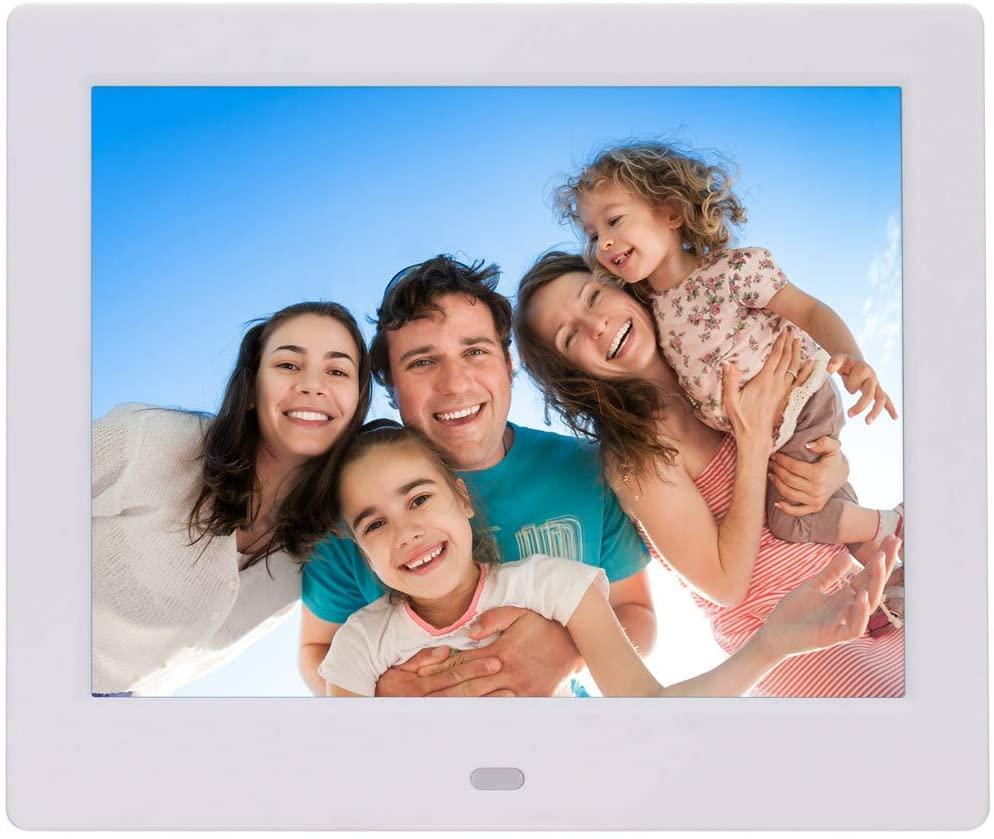 Digital Photo Frame 10 inch LED Display Hi-Res Digital Photo & HD Video Frame Infrared Remote Control