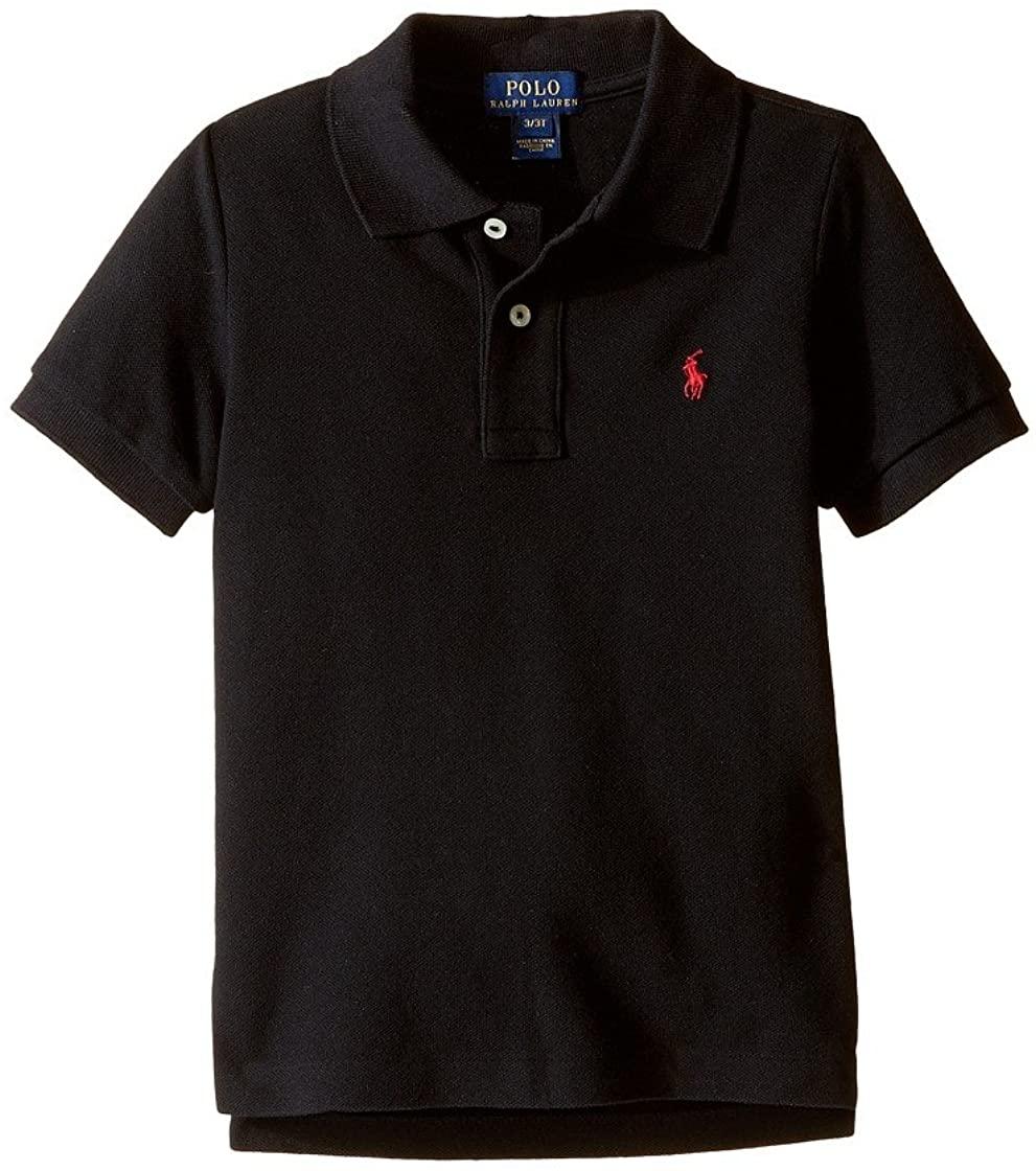 Polo Ralph Lauren Little Boys Polo Pique (3T, Polo Black (Red Pony))