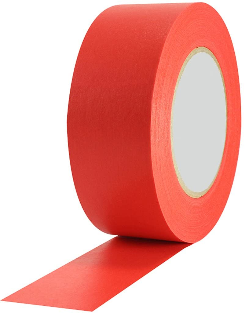 Signs & Labels FBLW3 50mm x 33m Aisle Marking Tape - Red