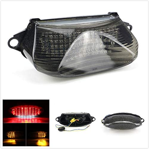 XKH- Repalcement of Motorcycle Smoke Led Tail Light Turn Signal For 1998-2005 Honda Super Hawk Vtr1000 Vtr1000F new