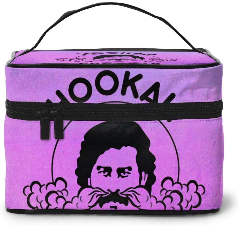 Wehoiweh Pablo Escobar 9x6.5x6.2 Inches (Length X Width X Height) Large-Capacity Makeup Cosmetics Storage Bag Protection Bag Can Help You Maintain Beautiful Appearance Anytime, Anywhere