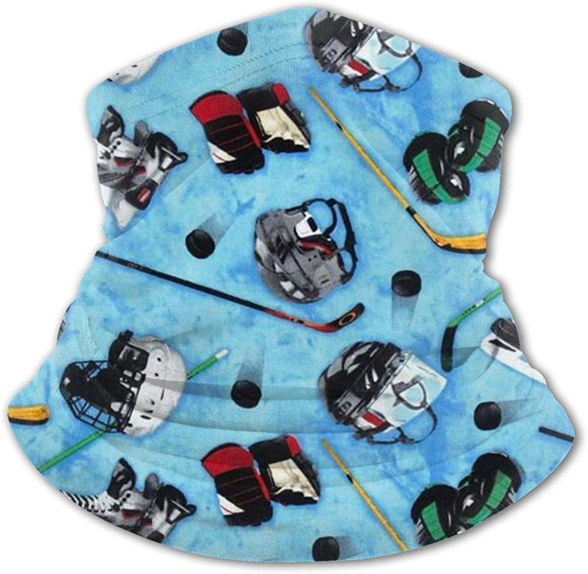 Hockey Equipment Headwear For Girls And Boys, Head Wrap, Neck Gaiter, Headband, Tenn Fishing Mask, Magic Scarf, Tube Mask, Face Bandana Mask For Camping Running Cycling