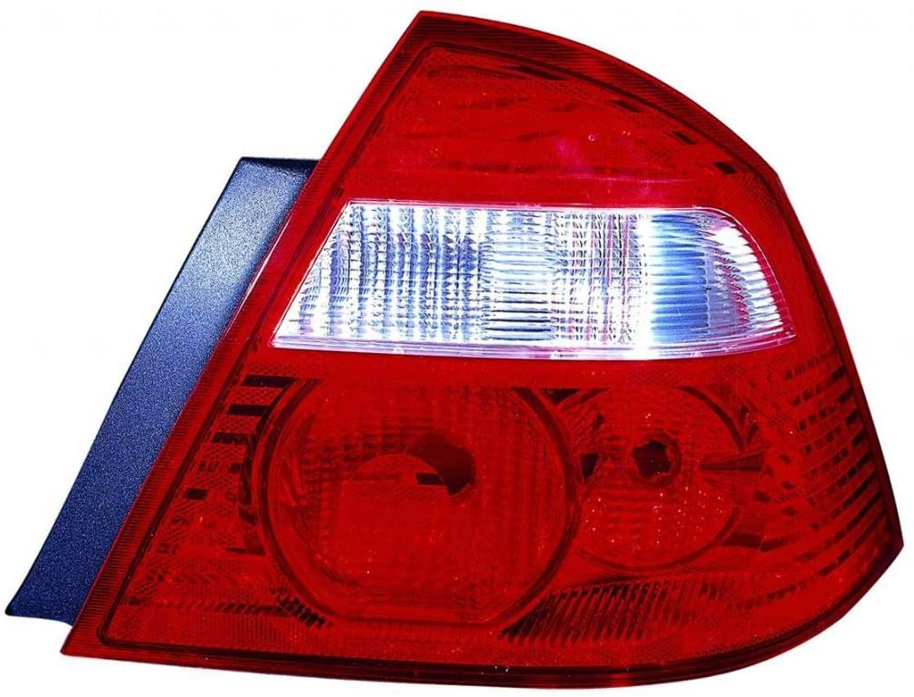 DEPO 330-1927R-US Replacement Passenger Side Tail Light Housing (This product is an aftermarket product. It is not created or sold by the OE car company)