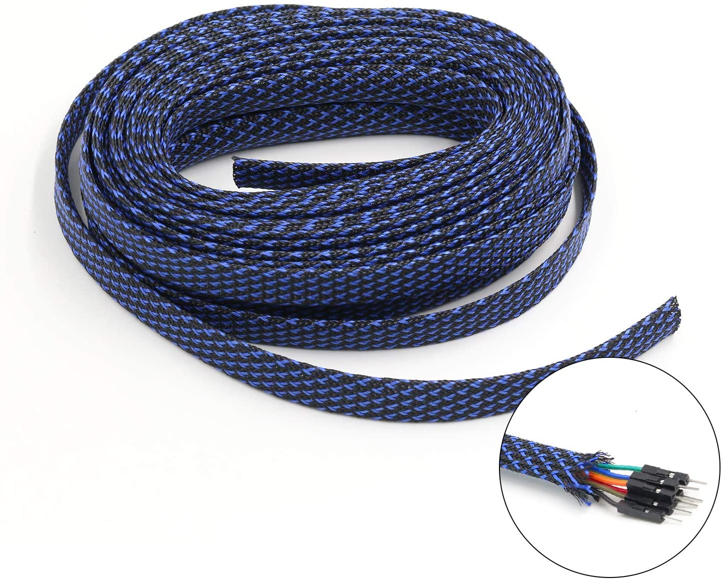 PET Expandable Braid Sleeving Flexo Wire Cable Sleeve (0.32