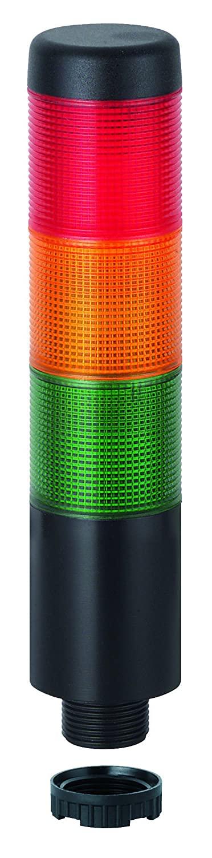 WERMA 699.110.75 Kompakt 37 Cable, 24 VAC/DC, Pc, Green/Yellow/Red