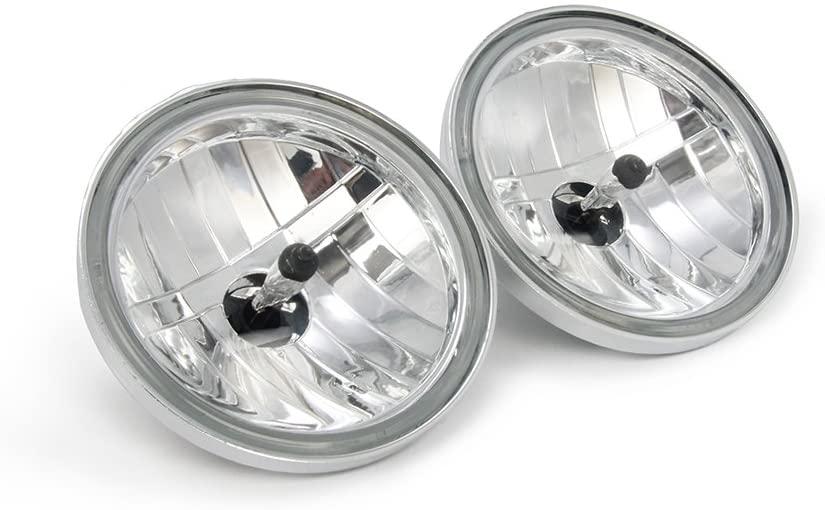 4 1/2 Diamond Cut Ice Auxiliary Passing Lamp Driving Spot Fog Lights - Harley