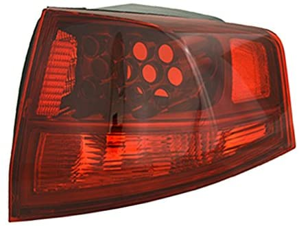 Rareelectrical NEW OUTER RIGHT TAIL LIGHT COMPATIBLE WITH ACURA MDX 2010-2013 AC2819117 33501-STX-A11 33501STXA11