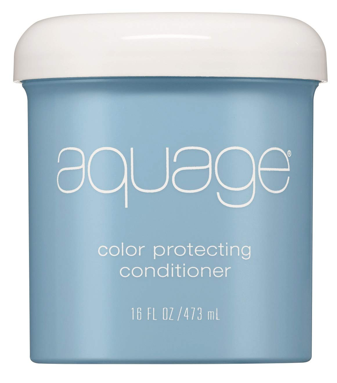AQUAGE Color Protecting Conditioner, 16 Oz, Deep-Penetrating Moisturizer that Seals in Haircolor, Infused with Nutrient-Rich Sea Botanicals, Restores Hair and Adds Shine