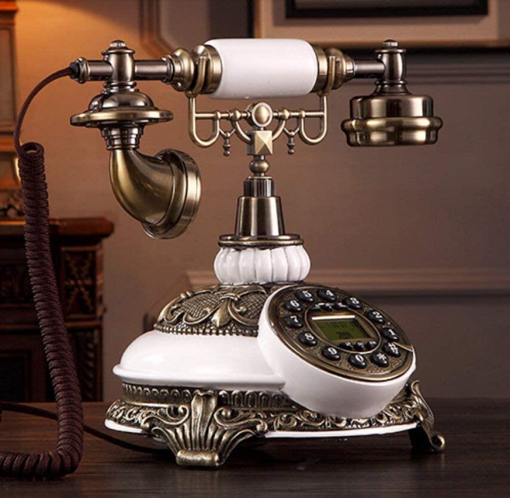 LGSYSYP Bathroom Accessories/European Retro Creative Fashion Wired Telephone Cafe bar Window Decoration Home Decoration Props Handmade Custom Button Fixed line landline Phone Towel/Towel Rack,Wir