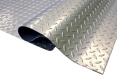 IncStores Standard Grade Nitro Garage Roll Out Floor Protecting Parking Mats (Diamond 5' x 17')