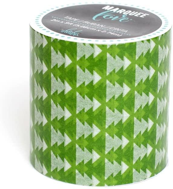 Heidi Swapp Marquee Christmas Green Tree Washi Tape, 2 x 9