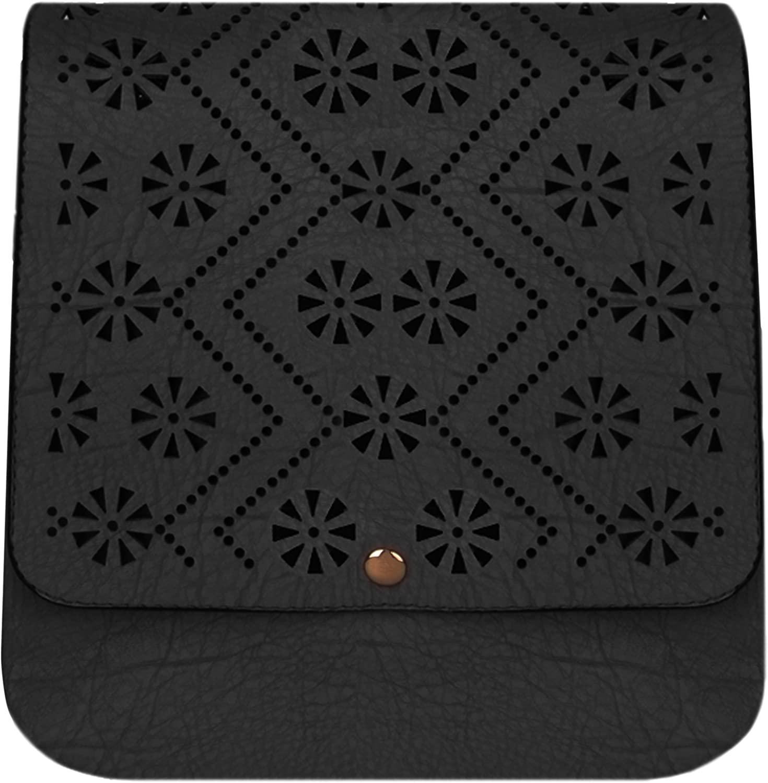 VanGoddy Gran Star Crossbody Shoulder Bag for Lenovo Tab 2 A7 10, A7 20, A7 30 7 inch Android Tablet (Black)