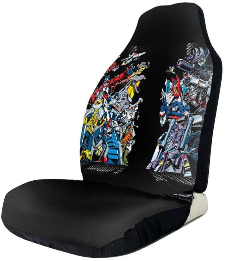 N/C Transformers Decepticons Anime Polyester Car Seat Covers