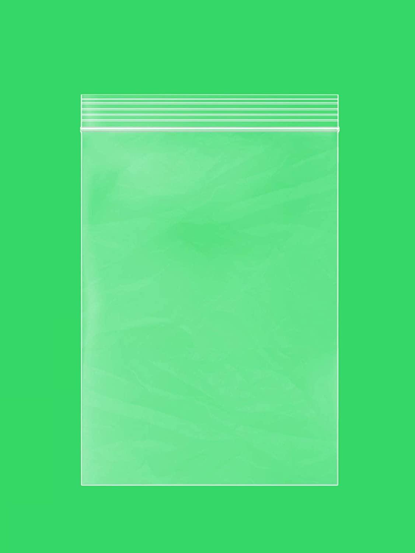 Clear Plastic Reusable ZIPLOCK Bags - Bulk GPI Case of 1000 6