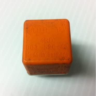 Oem Jaguar Hella Relay (Orange) 5 Terminals 00352043