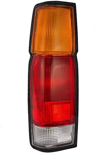Rareelectrical NEW LEFT TAIL LIGHT COMPATIBLE WITH NISSAN D21 SE 1986-1994 XE 1986-1989 1994 NI2800103 B6555-3B300 B65553B300