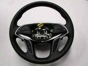 OEM 16-17 CT6 Black Leather Steering Wheel Assembly w paddles 84016902
