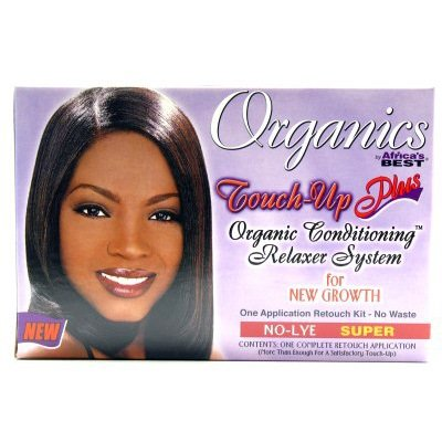 Africas Best Organincs Touch-Up and Relaxer Super (Pack of 2)