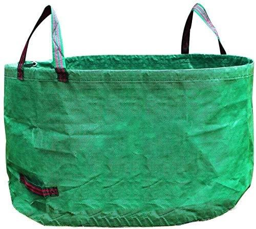 Zxcv Garden Garbage Basket Gardening Branches Leaves Storage Bags Recycling Leaves Cleaning Bags Wear-Resistant Snake Sorting Basket