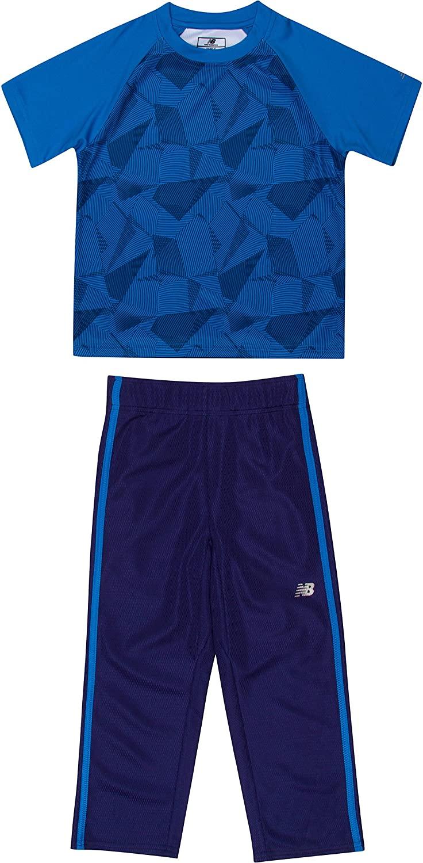 New Balance Boys' Athletic Tee and Pant Set
