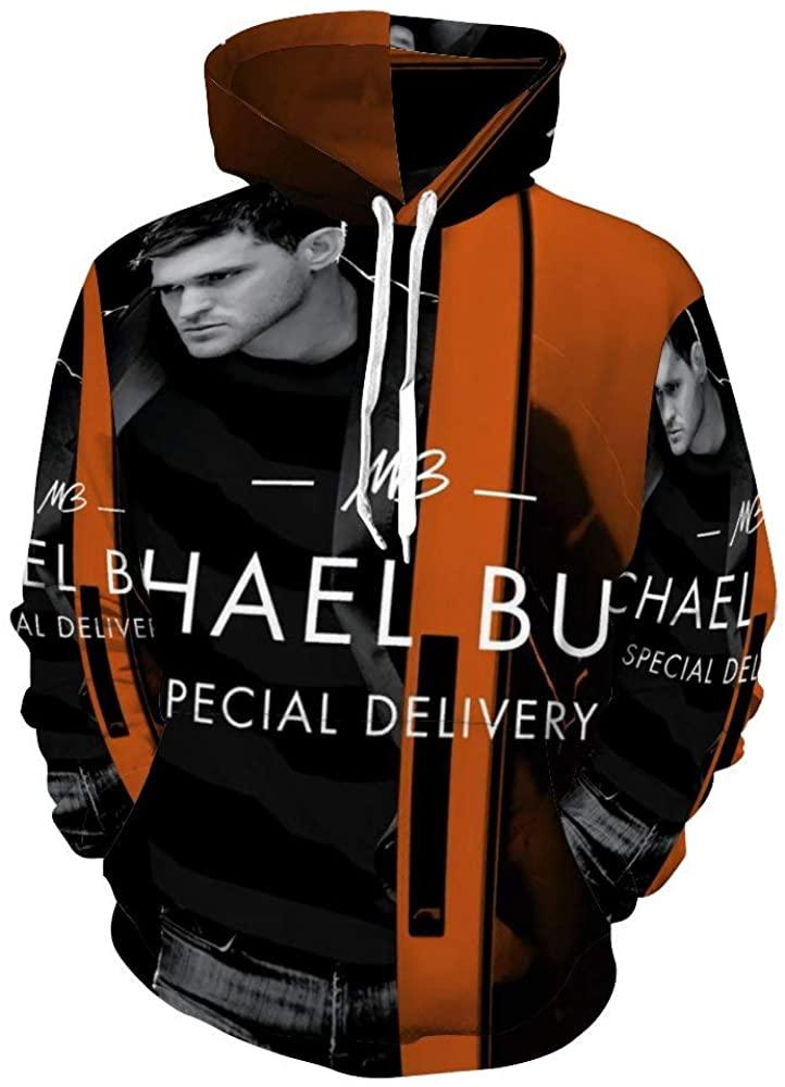Michael Bu-ble Man Hip hop Pullover Hoodie Anime Hooded Sweatshirt