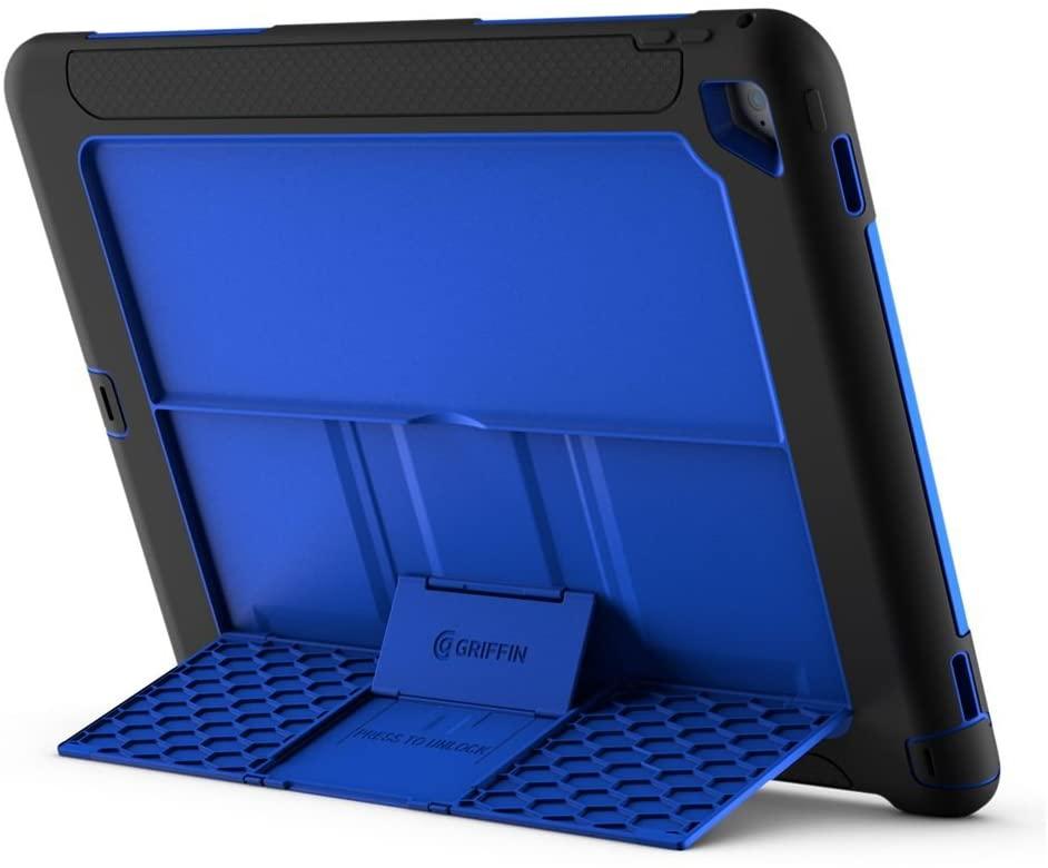 Griffin Survivor Slim Case for iPad Pro - Black/Blue