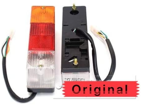 Calvas Supply Domestic LED Yellow/Red/White 5 Wires 12-24V Rectangle Tail Light Taillight HX-022 2205458mm for HELI TCM Forklifts