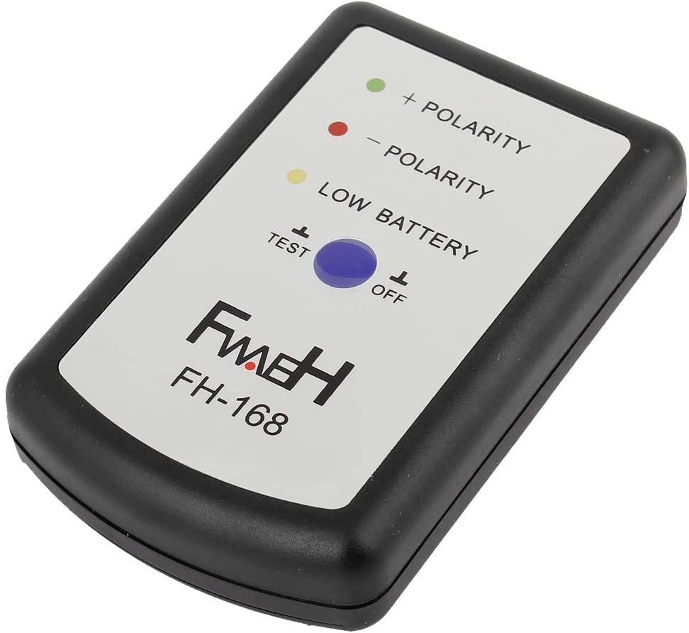 uxcell Auto Car Speaker Audio DIY Phase Tester PH Phasemeter Black
