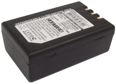 Battery Pack 1400-202450G Replacement for Unitech PA960 PA962 PA963 1850mAh