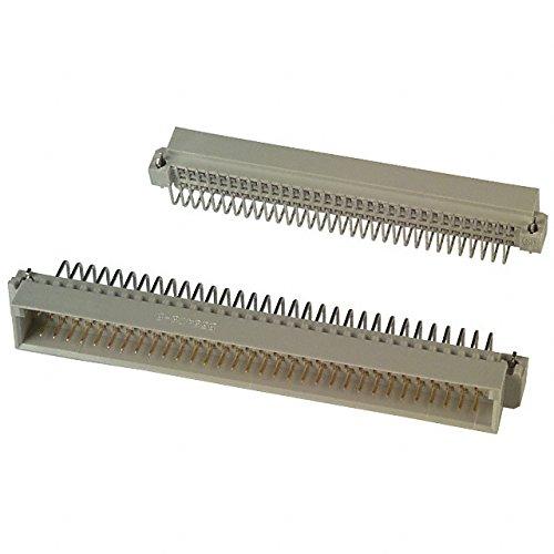 CONN DIN PLUG 64POS RT ANG PCB (10 pieces)