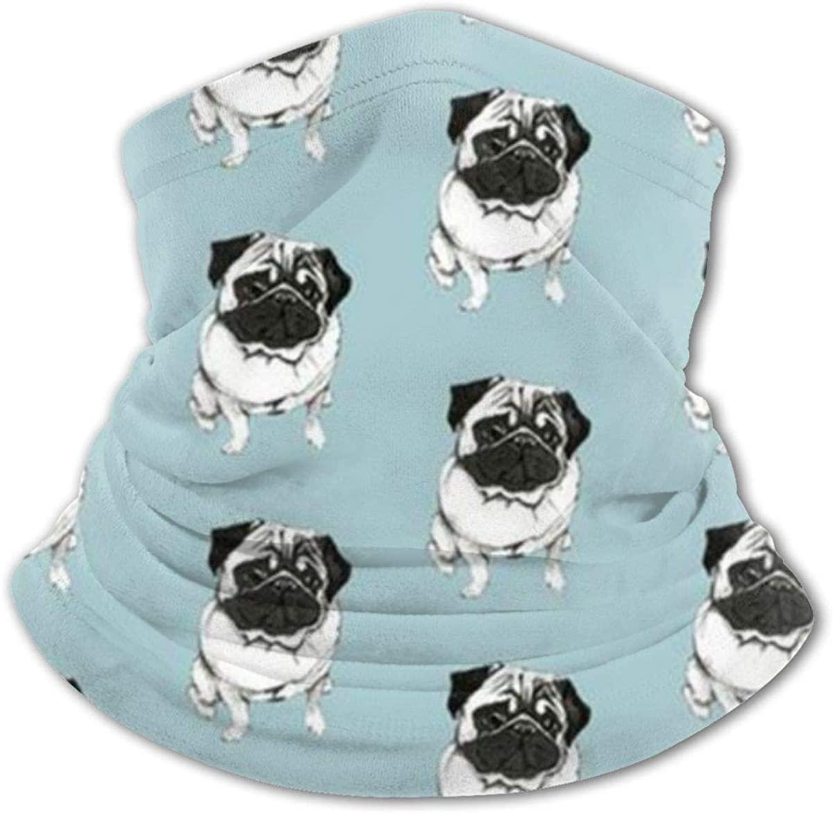 French Puppy Headwear For Girls And Boys, Head Wrap, Neck Gaiter, Headband, Tenn Fishing Mask, Magic Scarf, Tube Mask, Face Bandana Mask For Camping Running Cycling