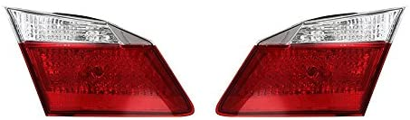 Rareelectrical NEW PAIR OF INNER TAIL LIGHTS COMPATIBLE WITH HONDA ACCORD HYBRID 34150-T2A-A01 34155T2AA01 34150T2AA01 HO2803104 34155-T2A-A01