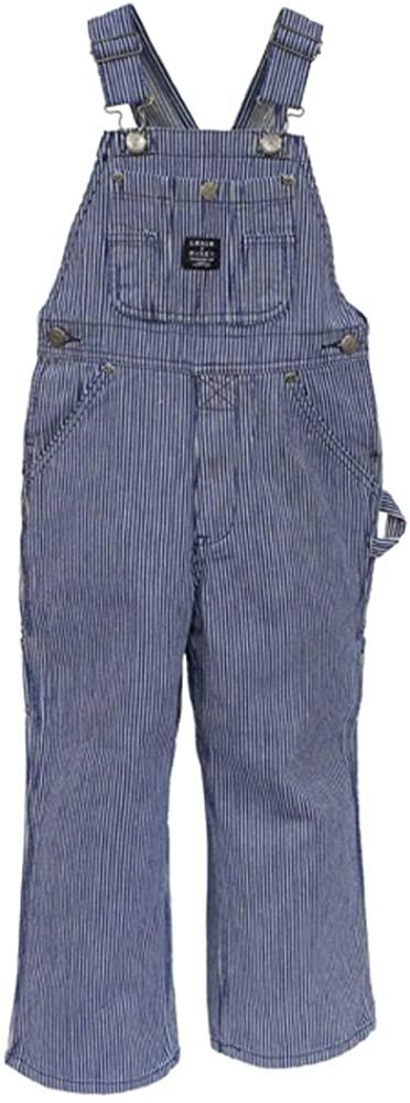Key Apparel Key Children's Hickory Stripe Bib Overall, Blue, 6