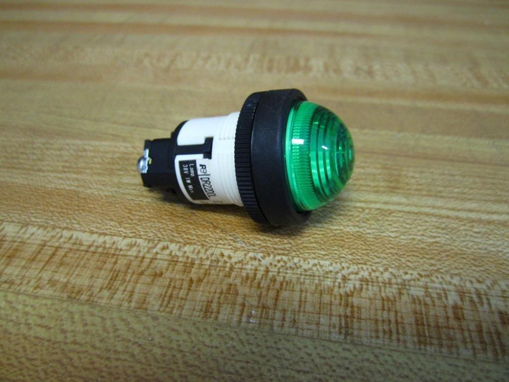 Fuji Electric Dr22d0l-E3g, Green Dome Pilot Light, 24V, 1W Dr22d0l-E3g