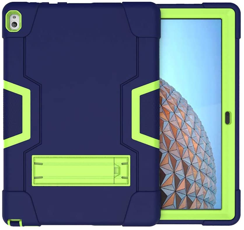 Koolbei Case for Lenovo Tab P10 Case,Heavy-Duty Drop-Proof and Shock-Resistant Rugged Hybrid case(with Built-in Stand),for Lenovo Tablet 2018 Tab P10 10.1
