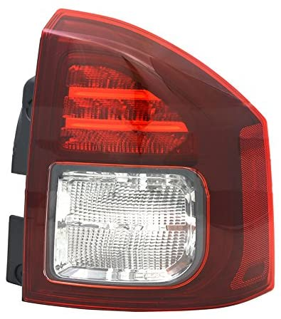 Rareelectrical NEW RIGHT PASSENGER SIDE TAIL LIGHT COMPATIBLE WITH JEEP COMPASS 2014-15 CH2801204 5272908AA