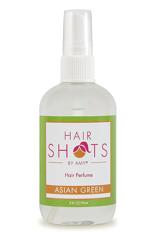 Hair Shots Asian Green Perfume Quality Heat Activated 3 oz Hair Fragrance