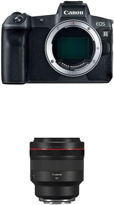 Canon EOS R Mirrorless Camera Body with RF85/1.2 L USM