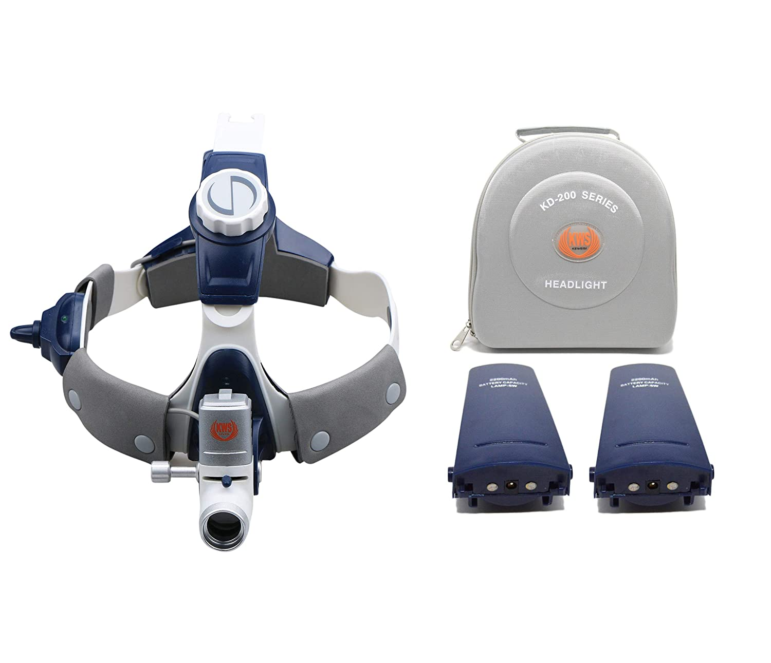 APHRODITE 5W LED Surgical Head Light Medical All-in-One Headlight Lamp Headband KD-202A-7B