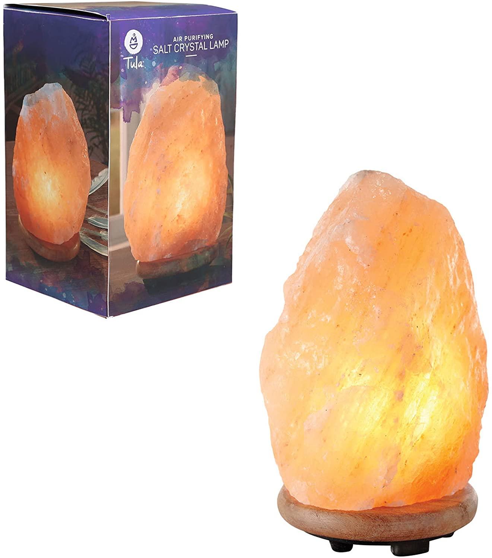 MerchSource Tula Wellness Salt Crystal Lamp