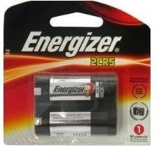 Energizer EL2CR5 6V Volt Lithium Battery Carded 2020 Date (Pack of 1)