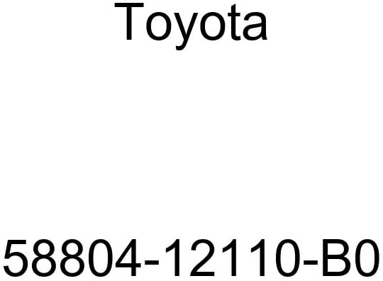 TOYOTA Genuine 58804-12110-B0 Console Panel Sub Assembly