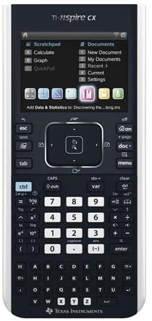TEXNSPIRECXCAS - Texas Instruments HH Graphing Calculator