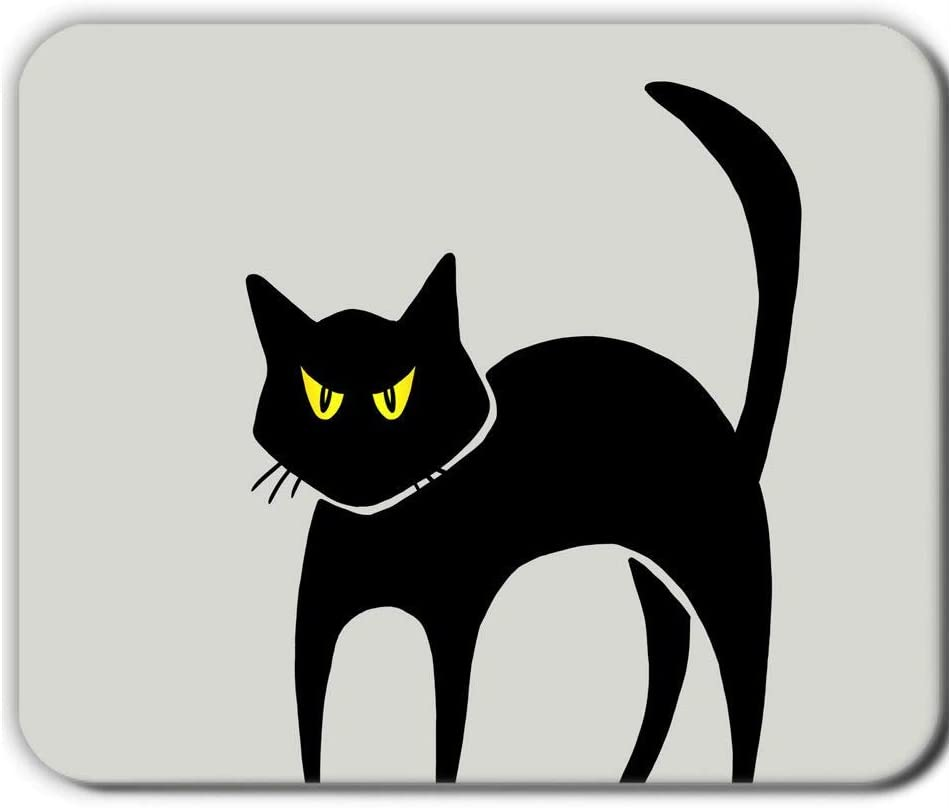 Babu Building Have with Cat Clipart Cartoon 1 Shock Resistance Use On Mousepad 240Mmx200Mmx2Mm Soft Silicon Child