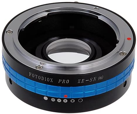 Fotodiox Pro Lens Mount Adapter, for Mamiya ZE (35mm) Lens to Sony Alpha DSLR Cameras