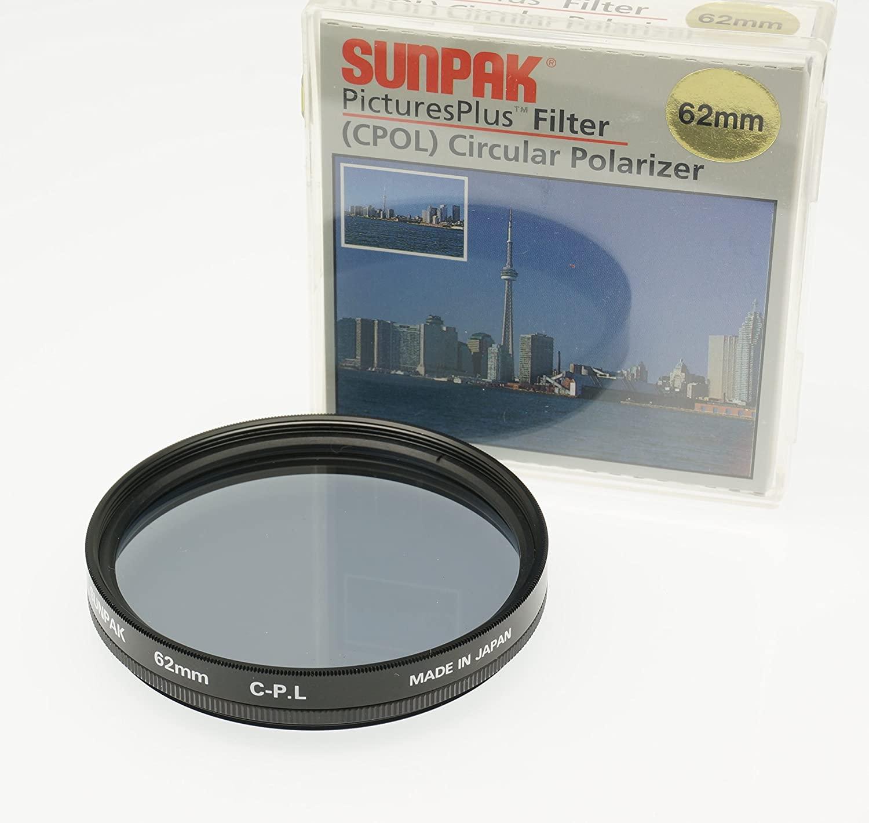 Sunpak Polarizing Filter for Panasonic Lumix DMC-FZ1000 Made in Japan