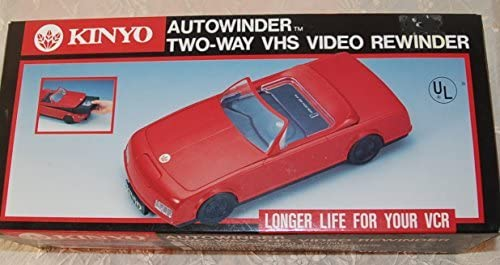 KINYO Autowinder Two-Way VHS Video Rewinder