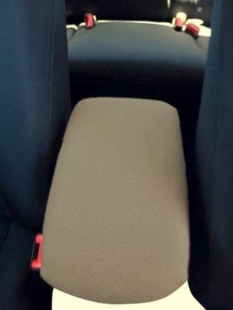 Auto Console Covers- Compatible with The Dodge Caliber 2007-2008 Center Console Armrest Cover Waterproof Neoprene Fabric - Tan