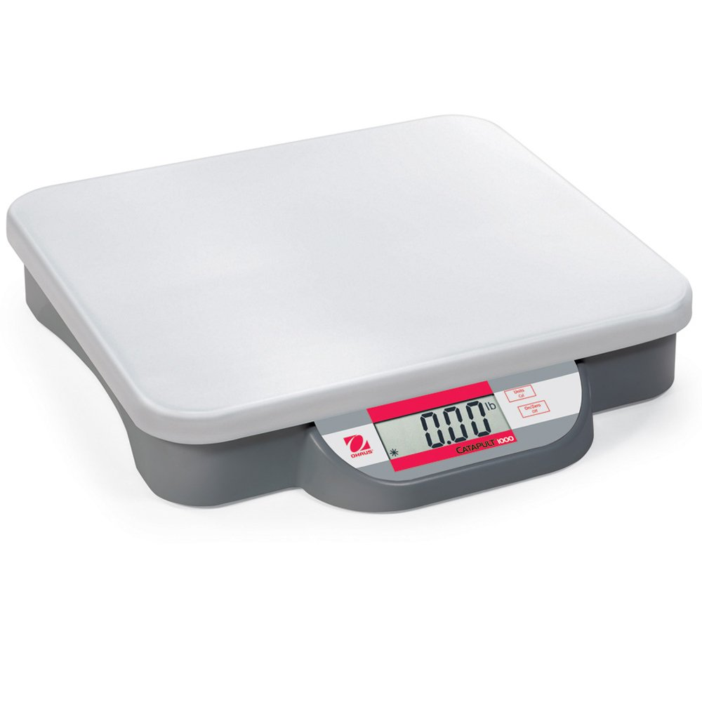 Ohaus ABS Plastic Catapult 1000 Compact Precision Bench Scale, 20kg x 0.01kg
