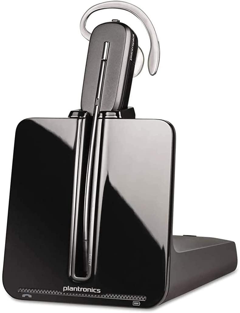 Plantronics CS540 Convertible Wireless Headset with HL10 Lifter 84693-11 (Renewed)